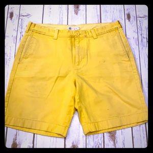 "J. Crew 33"" men's shorts"